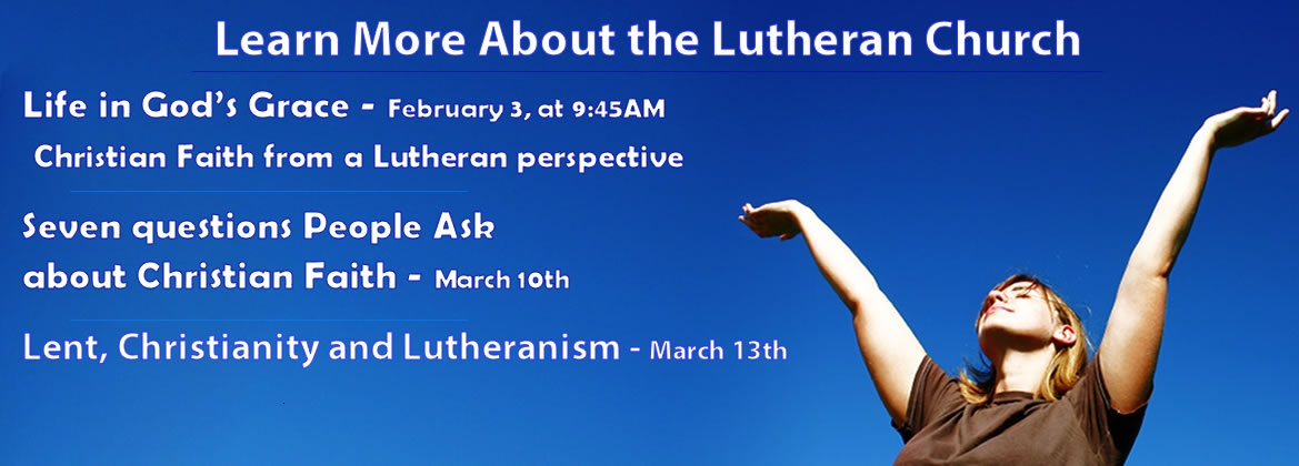 Learn more about the Lutheran Church
