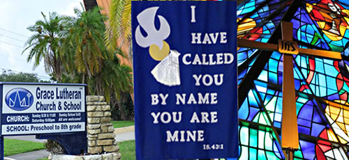 welcome t Grace Lutheran in Saint Petersburg Florida